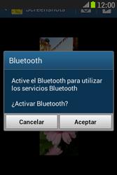 Samsung S6310 Galaxy Young - Bluetooth - Transferir archivos a través de Bluetooth - Paso 10