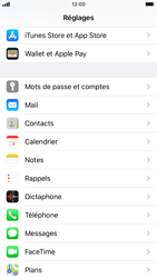 Apple iPhone 8 - iOS 13 - E-mail - Configuration manuelle - Étape 3