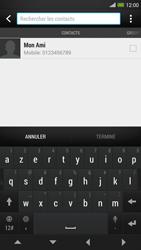 HTC One Max - MMS - envoi d'images - Étape 4