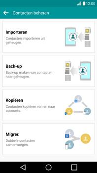 LG G4 - Contacten en data - Contacten kopiëren van toestel naar SIM - Stap 6