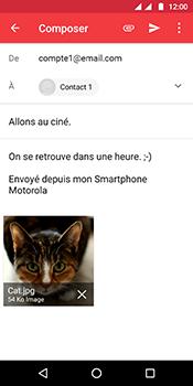 Motorola Moto G6 - E-mails - Envoyer un e-mail - Étape 17