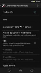 Sony Xperia Z - Funciones básicas - Activar o desactivar el modo avión - Paso 6