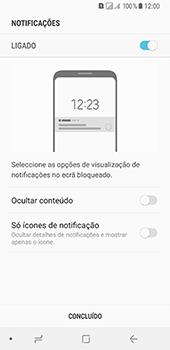 Samsung Galaxy A8 (2018) - Segurança - Como ativar o código de bloqueio do ecrã -  11