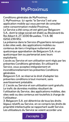 Apple iPhone 4s iOS 8 - Applications - MyProximus - Étape 9