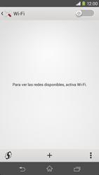 Sony Xperia M2 - WiFi - Conectarse a una red WiFi - Paso 5