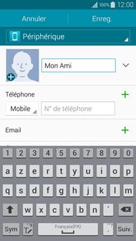 Samsung Galaxy Note 4 - Contact, Appels, SMS/MMS - Ajouter un contact - Étape 8