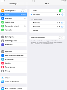 Apple iPad 2 met iOS 8 - WiFi - Handmatig instellen - Stap 7