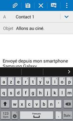 Samsung Galaxy Trend 2 Lite - E-mails - Envoyer un e-mail - Étape 9