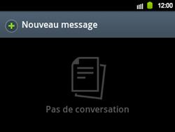 Samsung B5510 Galaxy TXT - SMS - Configuration manuelle - Étape 3