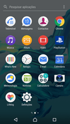 Sony Xperia XZ - Android Nougat - Email - Adicionar conta de email -  3