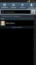Samsung Galaxy Note 2 - Contact, Appels, SMS/MMS - Ajouter un contact - Étape 4