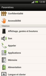 HTC C525u One SV - Messagerie vocale - configuration manuelle - Étape 5