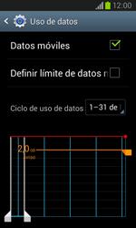 Samsung i8260 Galaxy Core - Internet - Ver uso de datos - Paso 8
