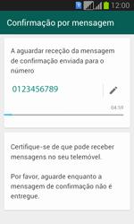 Samsung Galaxy Fresh Duos - Aplicações - Como configurar o WhatsApp -  8