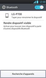 LG P700 Optimus L7 - Bluetooth - Jumeler avec un appareil - Étape 6