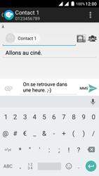 Wiko Freddy - Contact, Appels, SMS/MMS - Envoyer un MMS - Étape 12