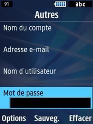 Samsung Solid 271 - E-mails - Ajouter ou modifier un compte e-mail - Étape 8