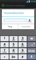 LG P700 Optimus L7 - Voicemail - Handmatig instellen - Stap 7