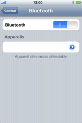 Apple iPhone 4 - Bluetooth - connexion Bluetooth - Étape 8