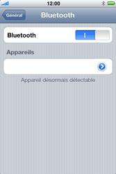 Apple iPhone 4 - Bluetooth - Jumeler avec un appareil - Étape 6