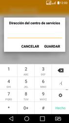 LG K4 (2017) - Mensajería - Configurar el equipo para mensajes de texto - Paso 8