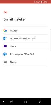 Samsung Galaxy S9 - E-mail - e-mail instellen (gmail) - Stap 8