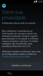 Motorola Moto E (1st Gen) (Kitkat) - Primeiros passos - Como ativar seu aparelho - Etapa 7