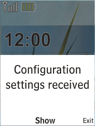 Nokia X2-00 - MMS - Automatic configuration - Step 3