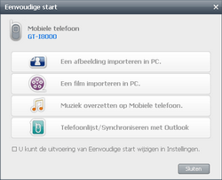 Samsung I8000 Omnia II - Software - PC-software installeren - Stap 19