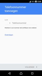 Sony G3121 Xperia XA1 - Applicaties - Account aanmaken - Stap 14