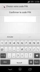 Sony Xpéria E3 - Sécuriser votre mobile - Activer le code de verrouillage - Étape 9
