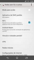 Sony Xperia E4G - Internet (APN) - Como configurar a internet do seu aparelho (APN Nextel) - Etapa 5