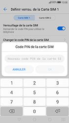 Huawei P10 Lite - Sécuriser votre mobile - Personnaliser le code PIN de votre carte SIM - Étape 9