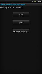 Sony LT22i Xperia P - E-mail - Handmatig instellen - Stap 8