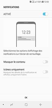 Samsung Galaxy A8 - Sécuriser votre mobile - Activer le code de verrouillage - Étape 11