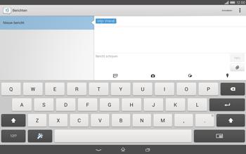 Sony Xperia Tablet Z2 (SGP521) - MMS - afbeeldingen verzenden - Stap 9