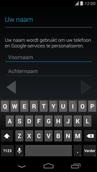Google Nexus 5 - Applicaties - Account aanmaken - Stap 5