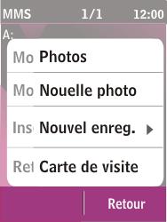 Nokia C2-03 - MMS - envoi d'images - Étape 18