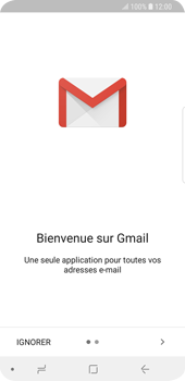 Samsung Galaxy S9 - E-mails - Ajouter ou modifier votre compte Gmail - Étape 5