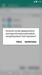 LG G5 SE - Android Nougat (LG-H840) - Contacten en data - Contacten kopiëren van SIM naar toestel - Stap 12