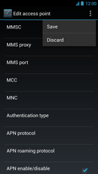 Acer Liquid S1 - Mms - Manual configuration - Step 17