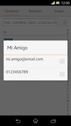 Sony Xperia L - Mensajería - Escribir y enviar un mensaje multimedia - Paso 7