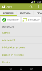 Sony Xperia E1 (D2005) - Applicaties - Downloaden - Stap 6