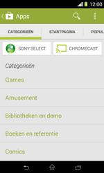 Sony D2005 Xperia E1 - Applicaties - Downloaden - Stap 6