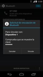 Motorola Moto X (2ª Gen) - Bluetooth - Conectar dispositivos a través de Bluetooth - Paso 7
