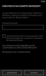 Nokia Lumia 520 - Applications - Créer un compte - Étape 14