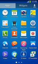 Samsung S7275 Galaxy Ace III - Network - Usage across the border - Step 3