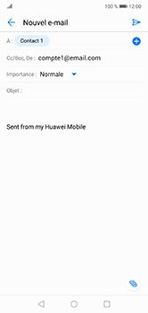 Huawei P20 Lite - E-mail - envoyer un e-mail - Étape 7