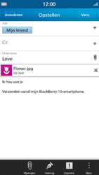BlackBerry Z30 - E-mail - hoe te versturen - Stap 15