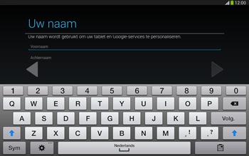Samsung P5220 Galaxy Tab 3 10-1 LTE - Applicaties - Account aanmaken - Stap 5